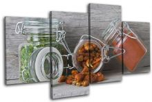 Spices Jars  Food Kitchen - 13-1480(00B)-MP04-LO